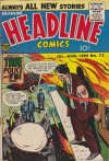 Cover For Headline Comics 72