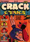 Cover For Crack Comics 16