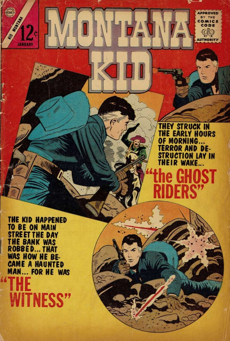 Comic Book Cover For Kid Montana #44