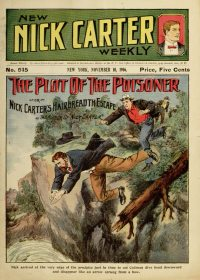 Large Thumbnail For New Nick Carter Weekly 515 - Plot of the Poisoner