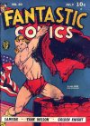 Cover For Fantastic Comics 20 (paper/2fiche)