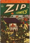 Cover For Zip Comics 33