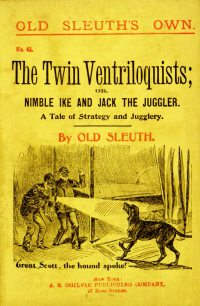Large Thumbnail For Old Sleuth's Own 041 The Twin Ventriloquists