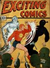 Cover For Exciting Comics 1 (fiche)