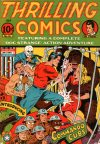 Cover For Thrilling Comics 36