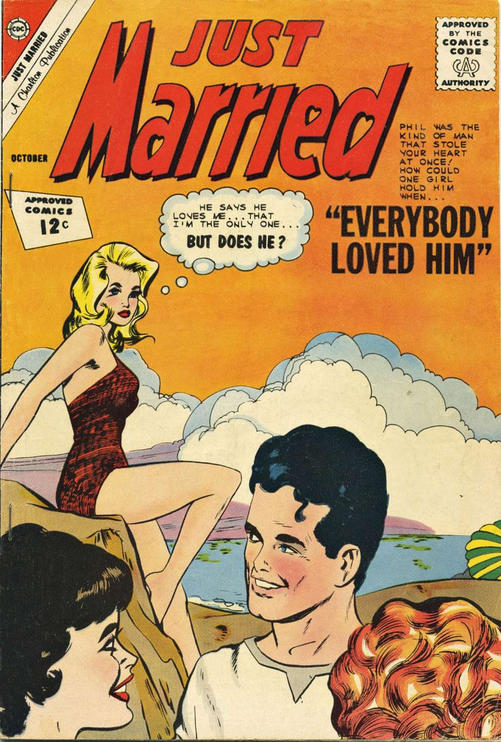 Comic Book Cover For Just Married #27