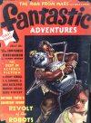 Cover For Fantastic Adventures v1 1 Revolt of the Robots Arthur R. Tofte