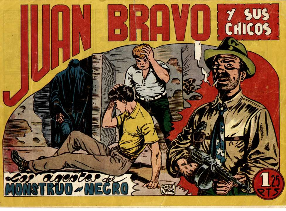 Comic Book Cover For Juan Bravo 04