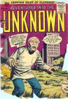 Cover For Adventures into the Unknown 74