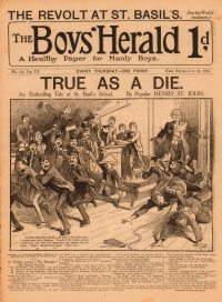 Large Thumbnail For The Boys' Herald 152 - A Fruitless Journey