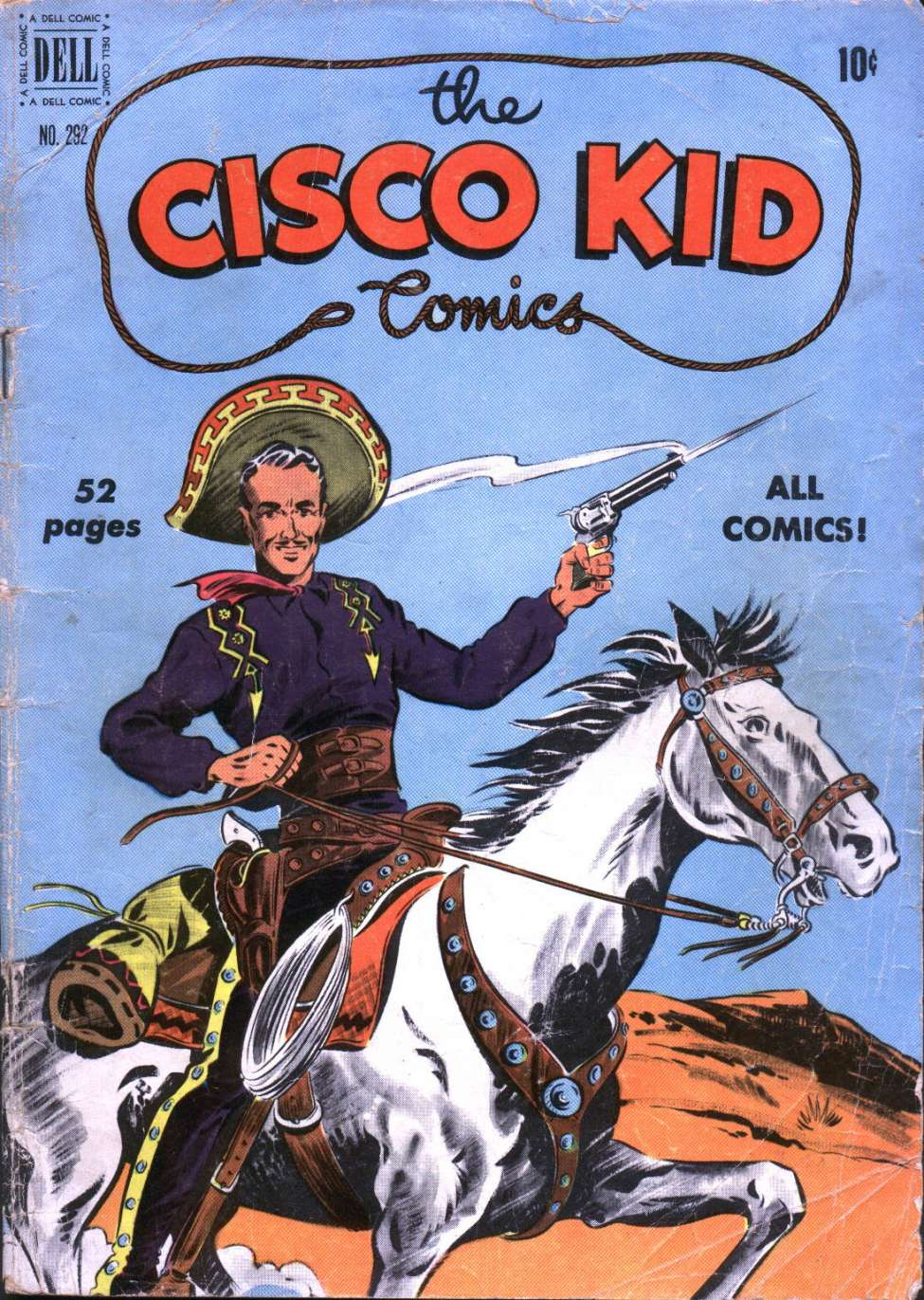 Comic Book Cover For Four Color 292