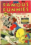 Cover For Famous Funnies 154