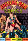 Cover For Amazing Man Comics 11
