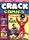 Cover For Crack Comics 24
