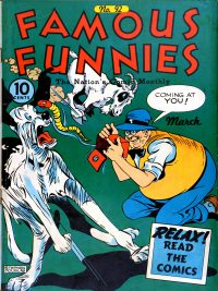 Large Thumbnail For Famous Funnies #92