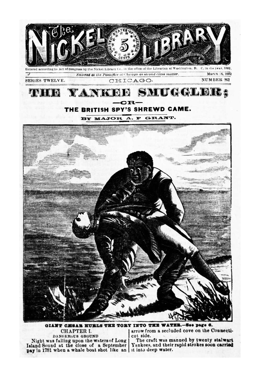 Comic Book Cover For The Nickel Library v012 0262 - The Yankee Smuggler