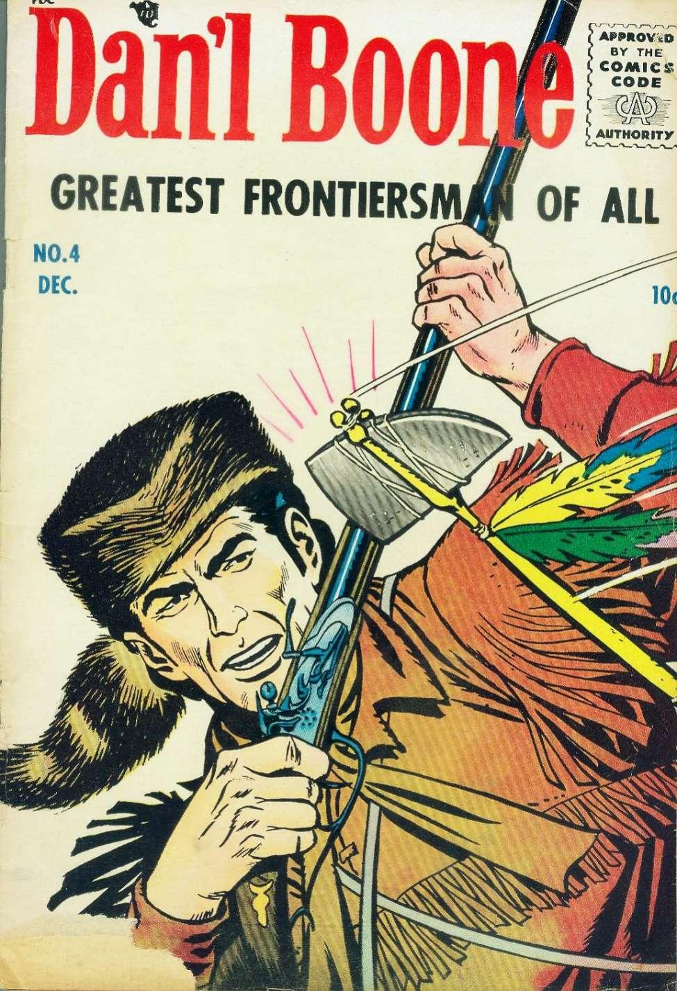 Comic Book Cover For Dan'l Boone #4