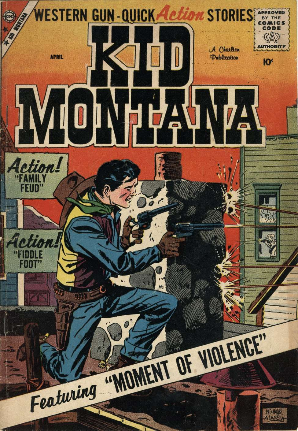 Comic Book Cover For Kid Montana #17