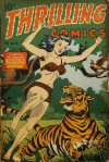 Cover For Thrilling Comics 58
