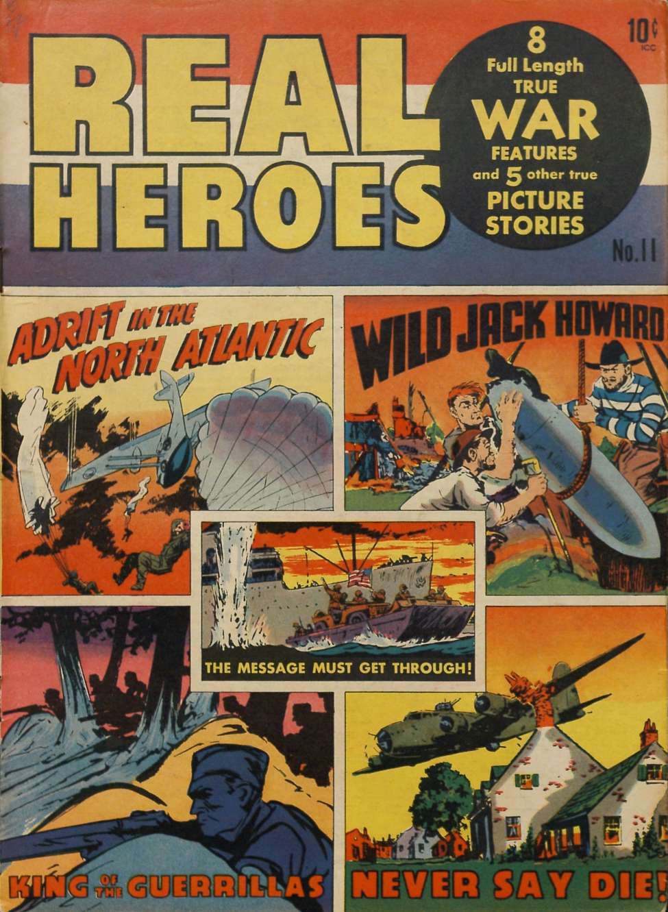 Comic Book Cover For Real Heroes #11