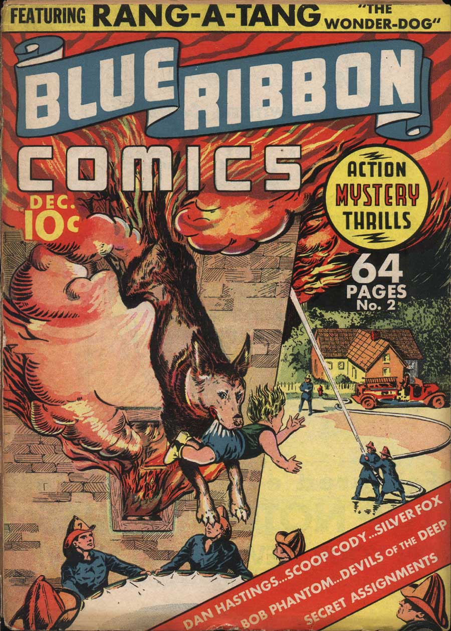 Comic Book Cover For Blue Ribbon Comics #2