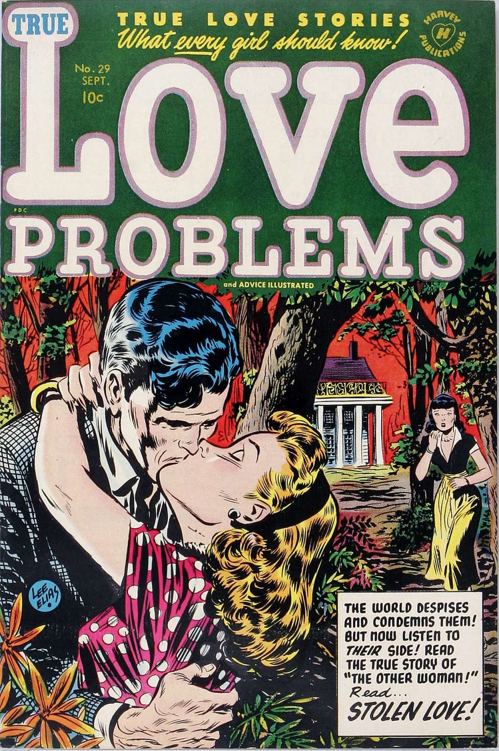 Comic Book Cover For True Love Problems and Advice Illustrated #29