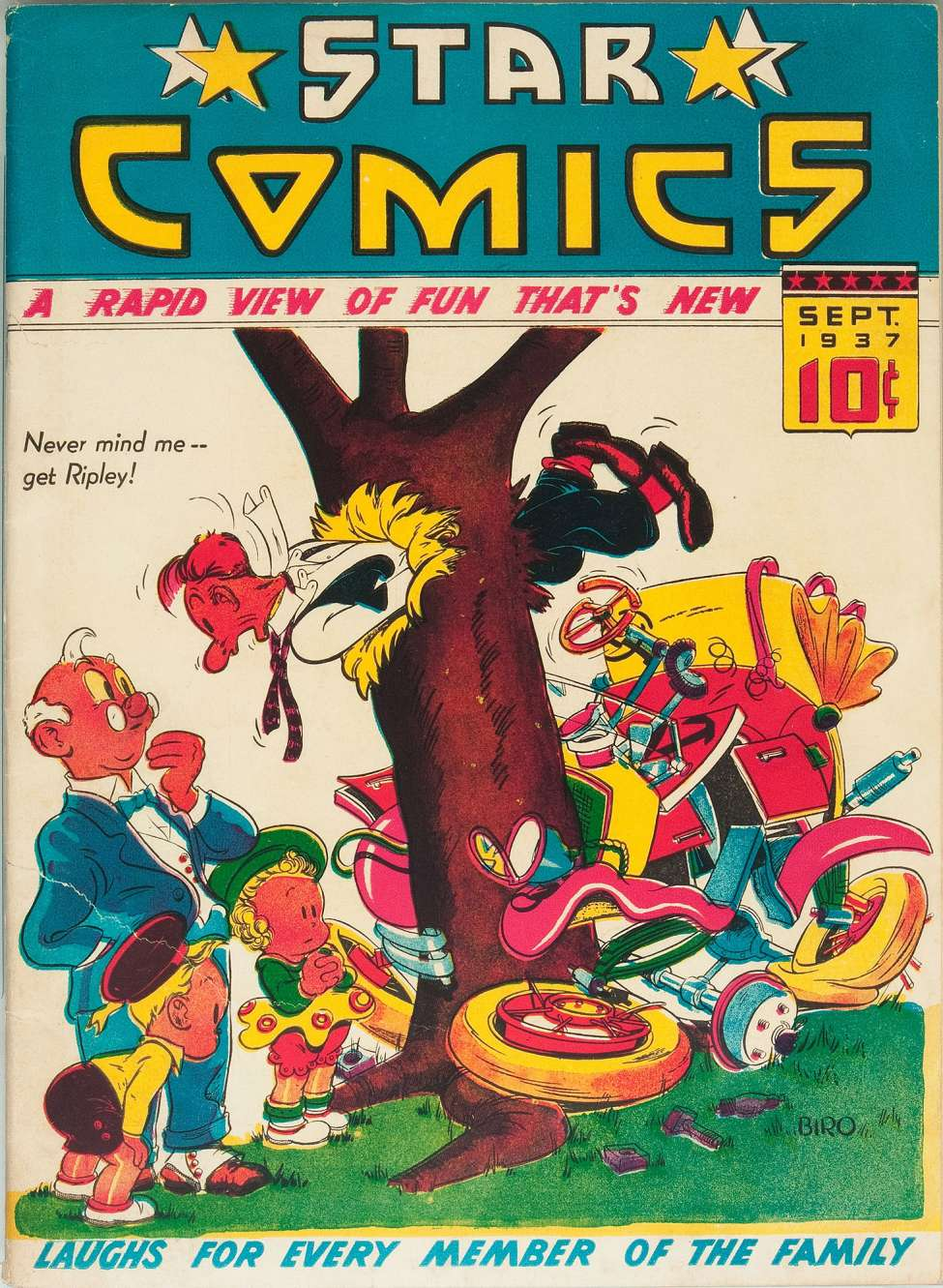 Comic Book Cover For Star Comics #6