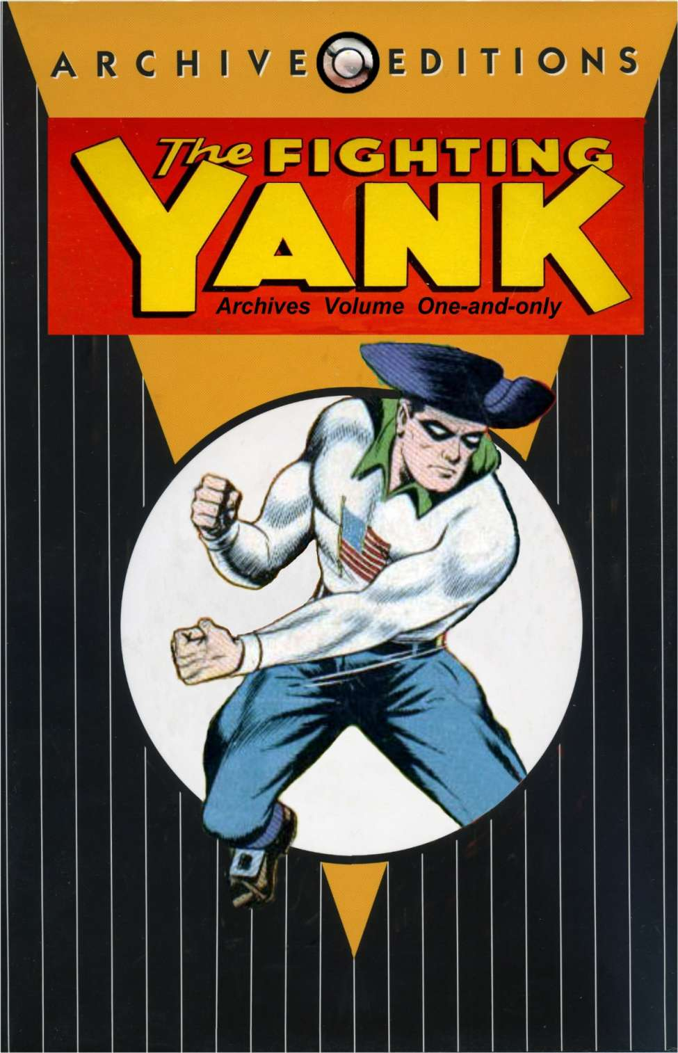 Comic Book Cover For Fighting Yank Archive part 1
