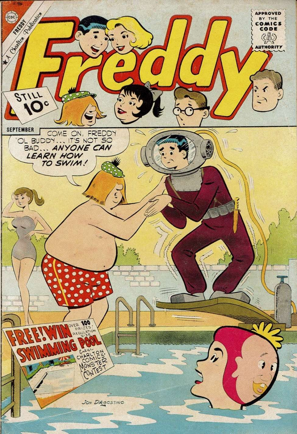 Comic Book Cover For Freddy #30