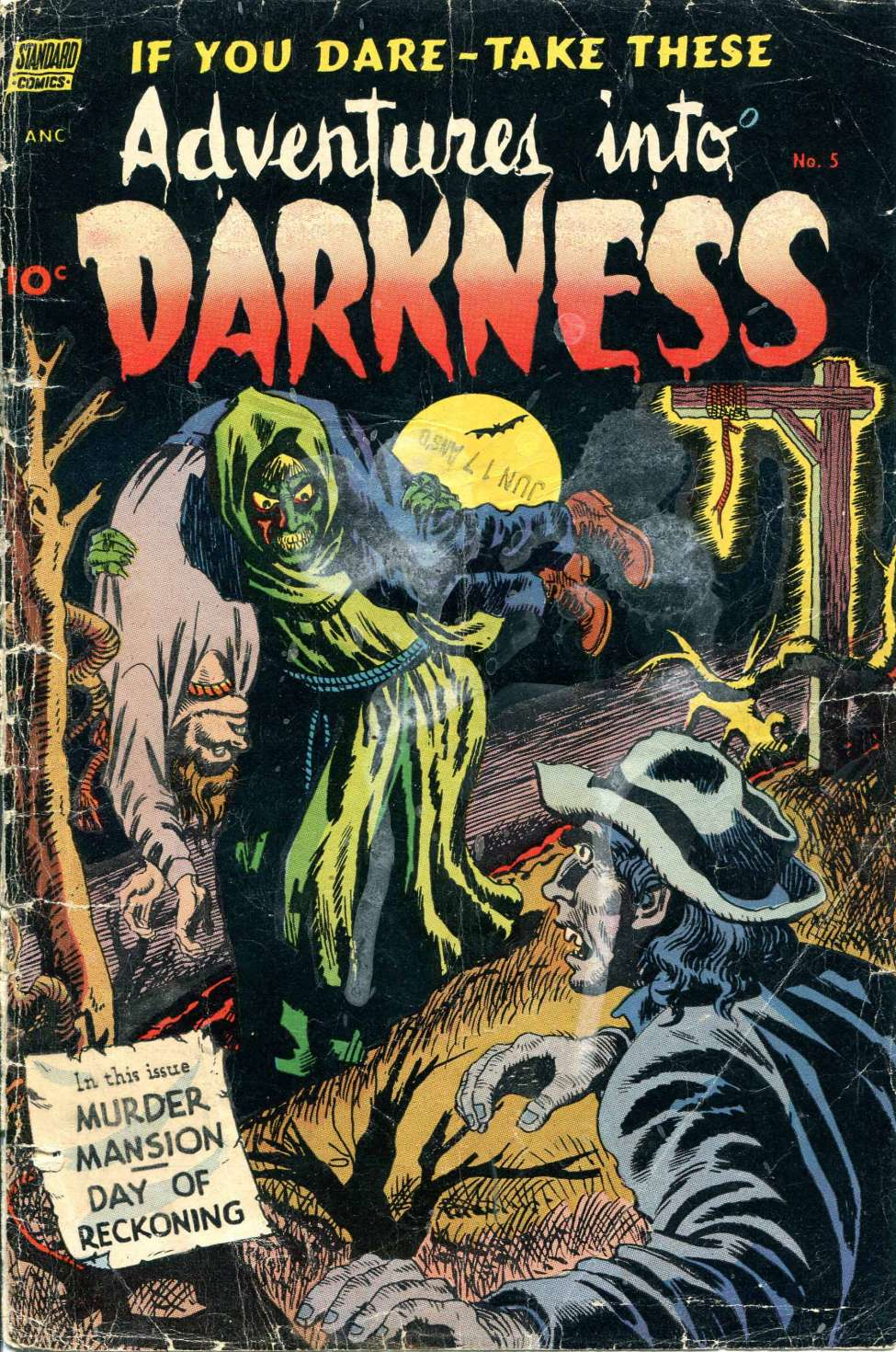 Comic Book Cover For Adventures into Darkness #5