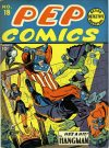 Cover For Pep Comics 18