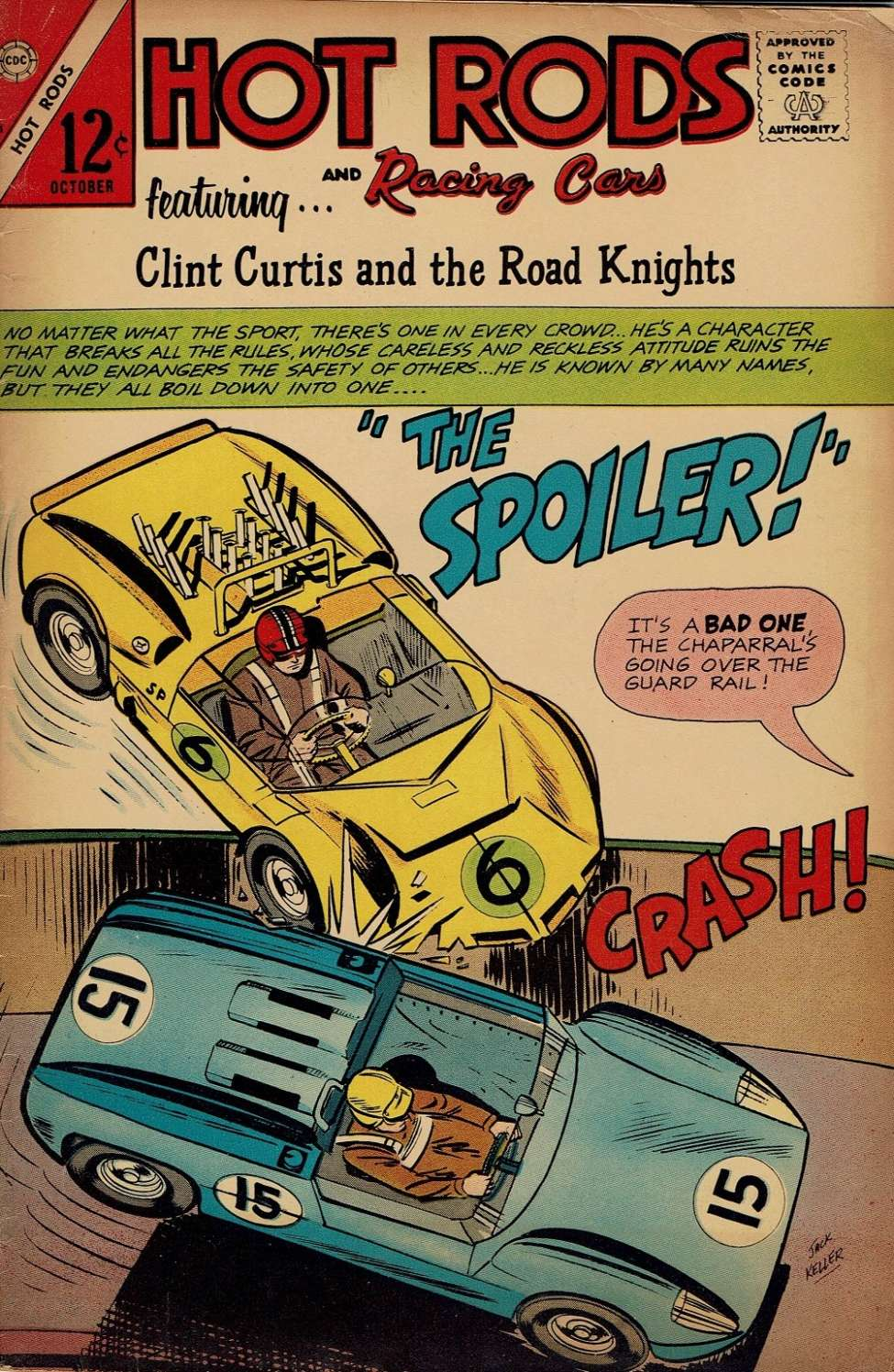 Comic Book Cover For Hot Rods and Racing Cars #81