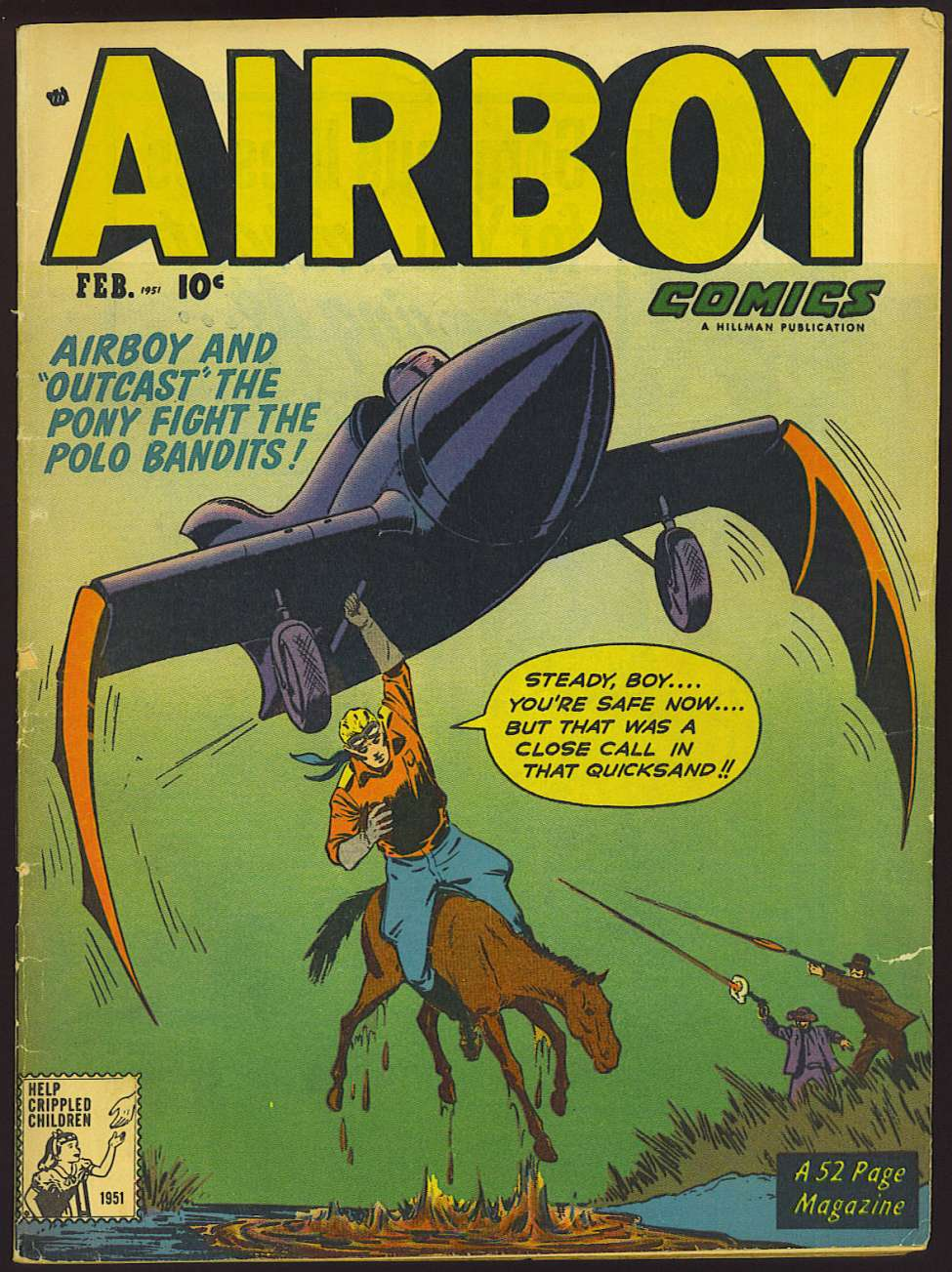 Comic Book Cover For Airboy Comics v8 1 [84]