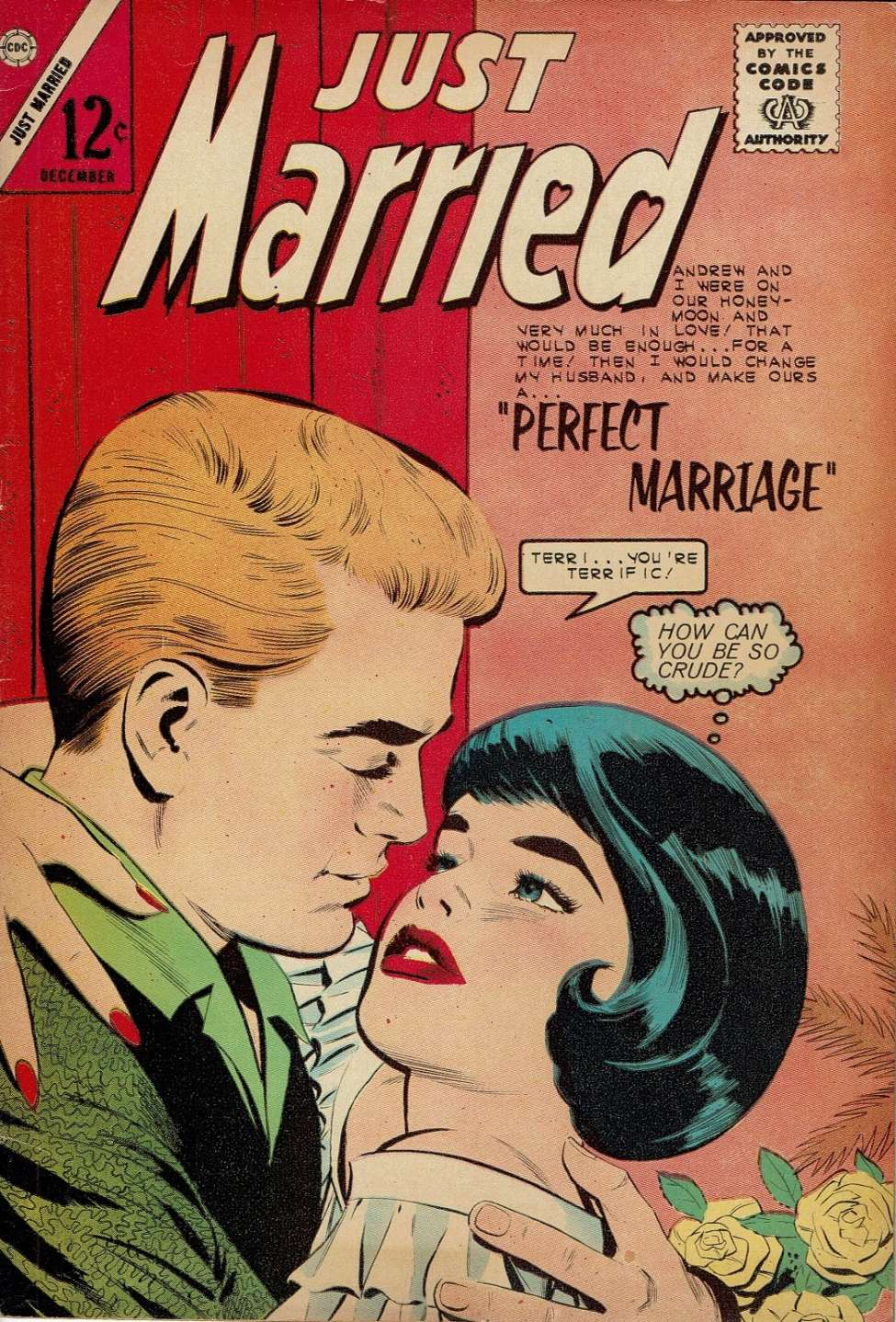 Comic Book Cover For Just Married #34