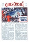 Cover For Girls' Crystal 567 The Schoolgirl Treasure Hunters