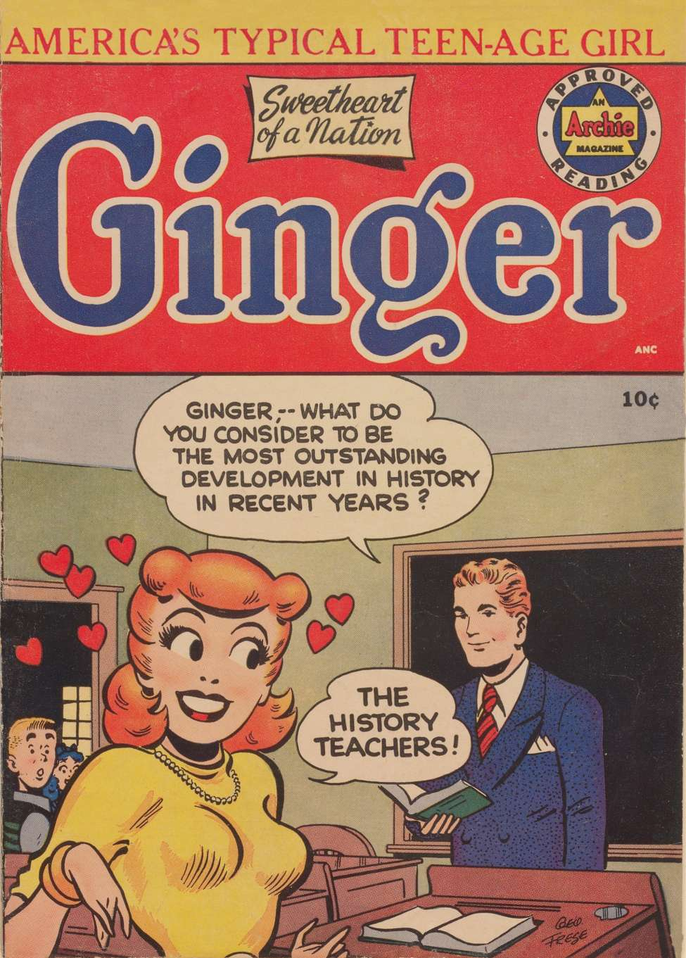 Comic Book Cover For Ginger #1
