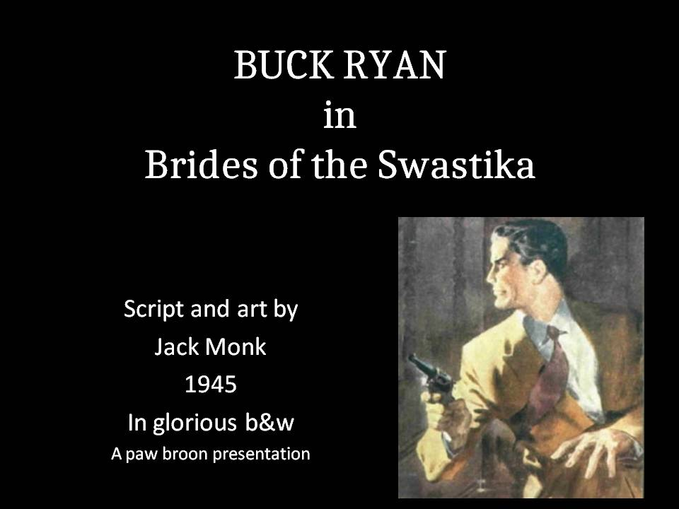 Comic Book Cover For Buck Ryan 24 - Brides of the Swastika