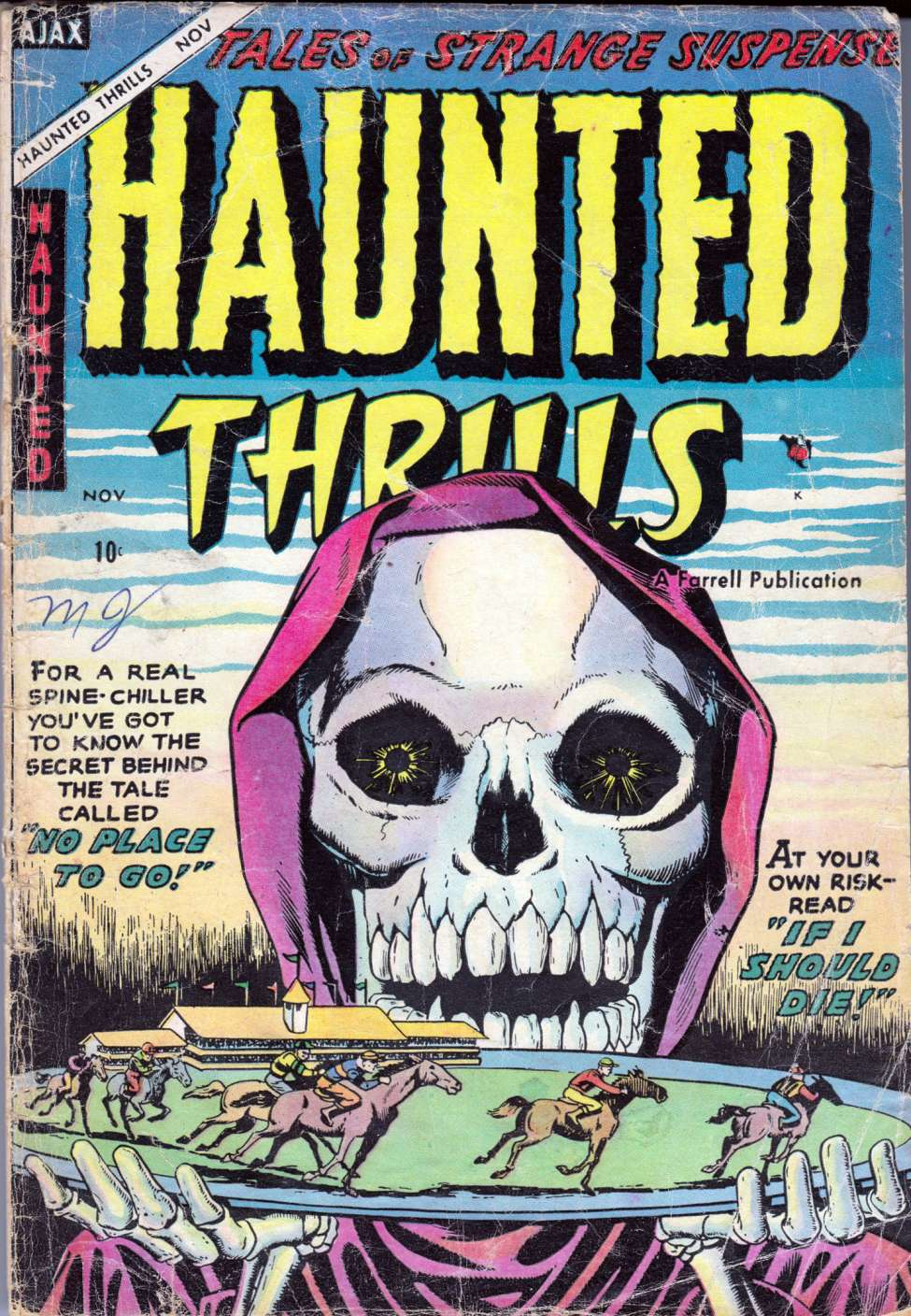 Comic Book Cover For Haunted Thrills #18 - Version 2