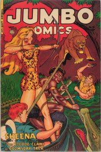 Large Thumbnail For Jumbo Comics #151