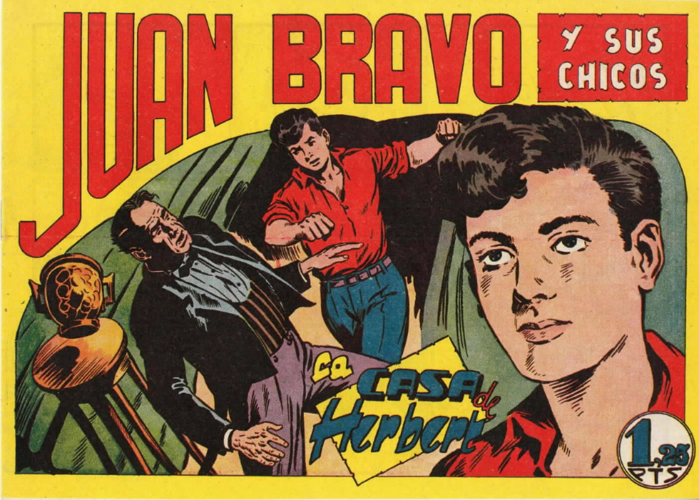 Comic Book Cover For Juan Bravo 19