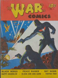 Large Thumbnail For War Comics #4 - Version 2