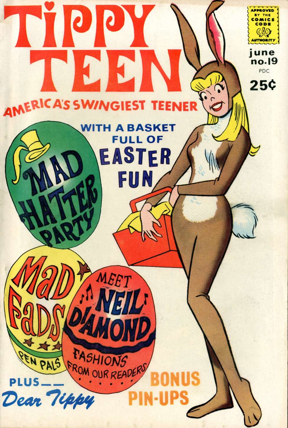 Comic Book Cover For Tippy Teen #19