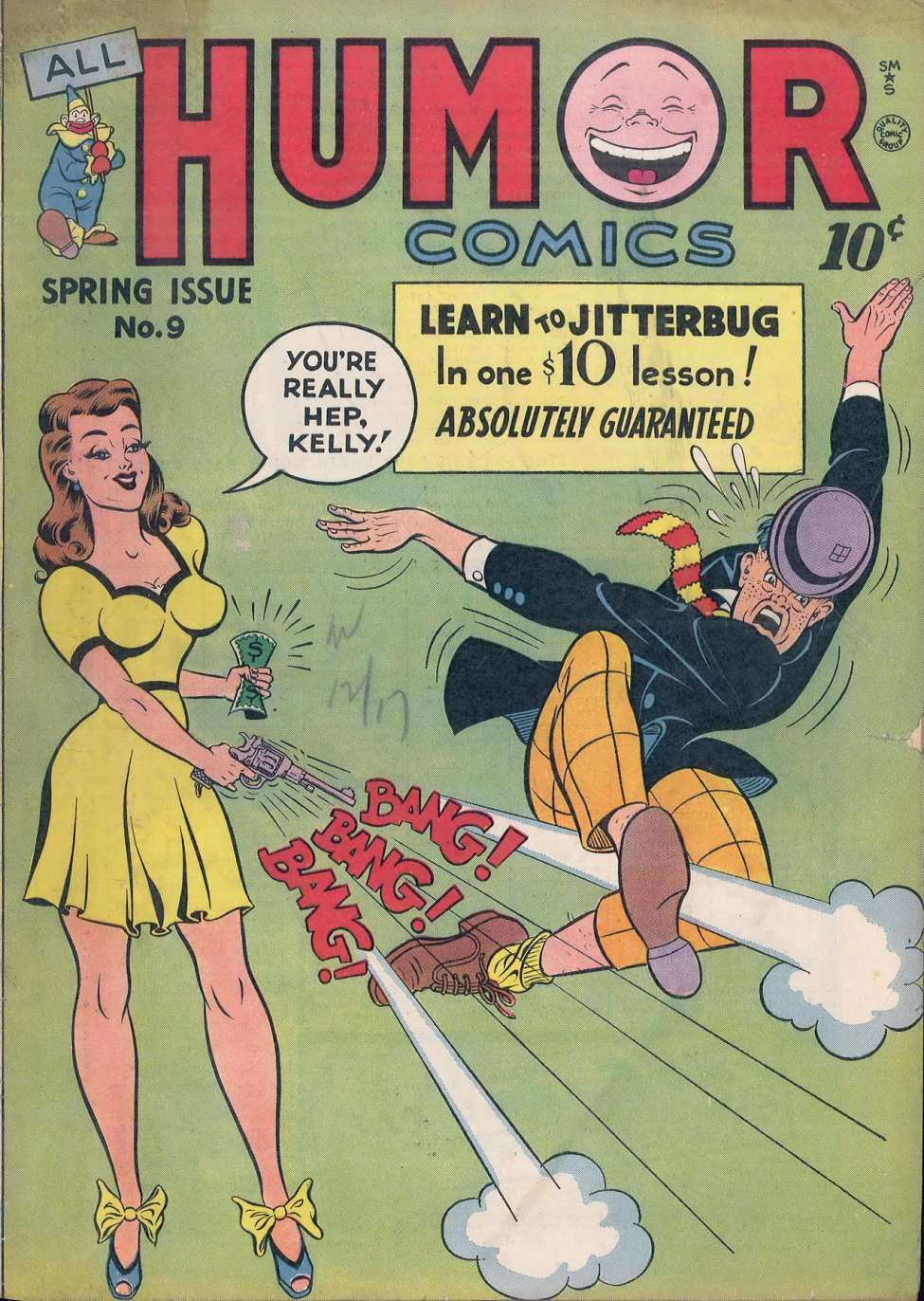Comic Book Cover For All Humor Comics #9