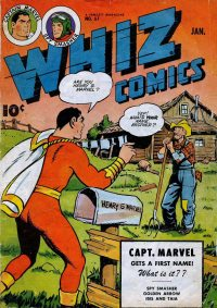 Large Thumbnail For Capt. Marvel Whiz Archives Vol 14