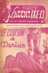 Cover For L'Agent IXE 13 v2 174 Le cousin de Marius