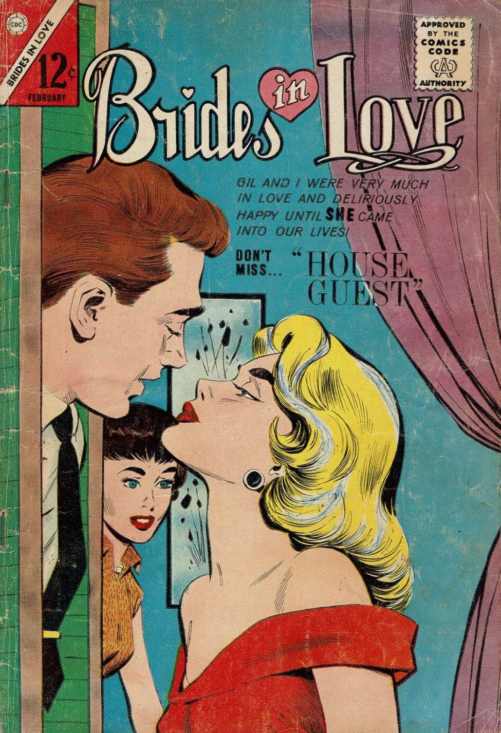 Comic Book Cover For Brides in Love #40