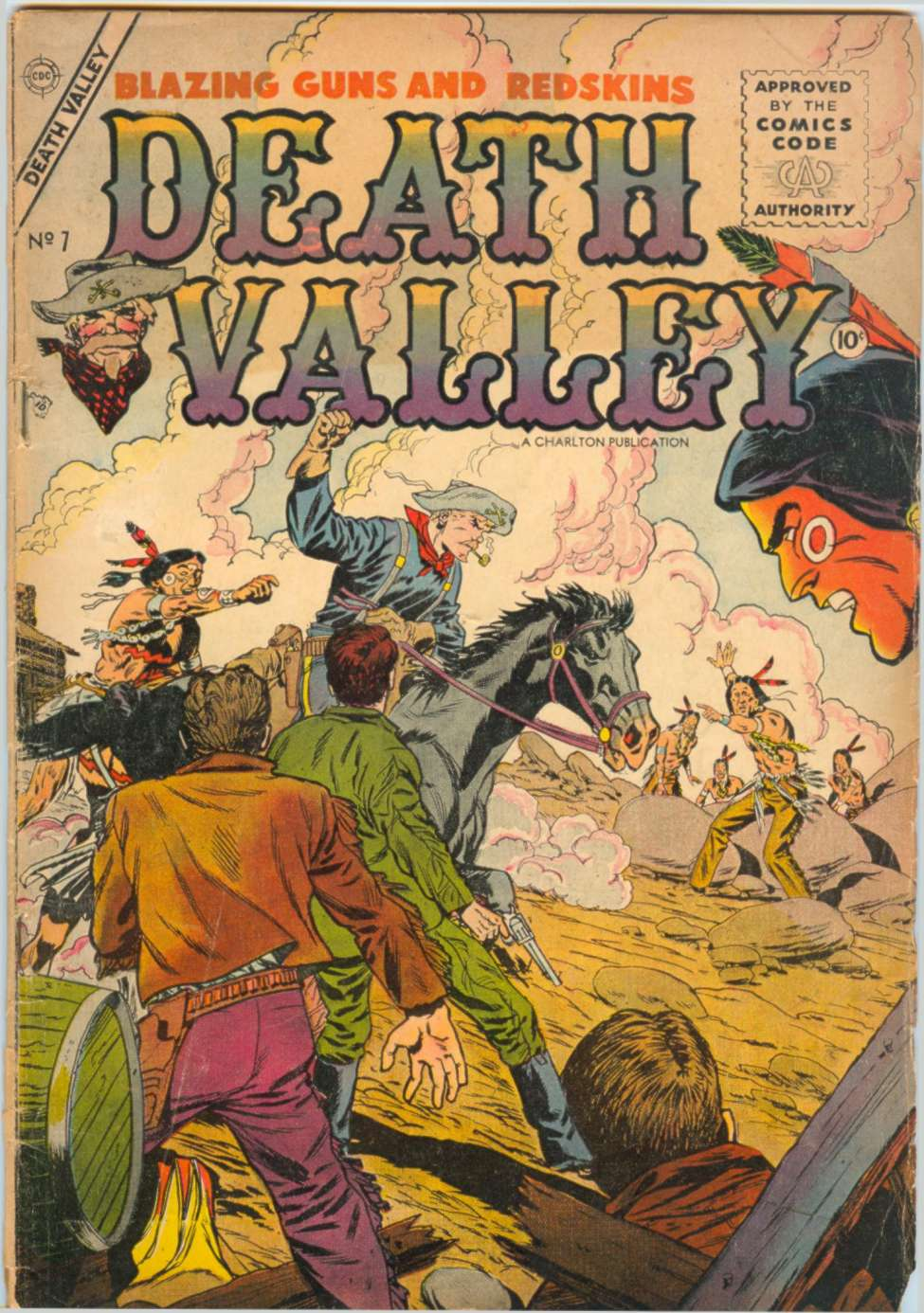 Comic Book Cover For Death Valley #7
