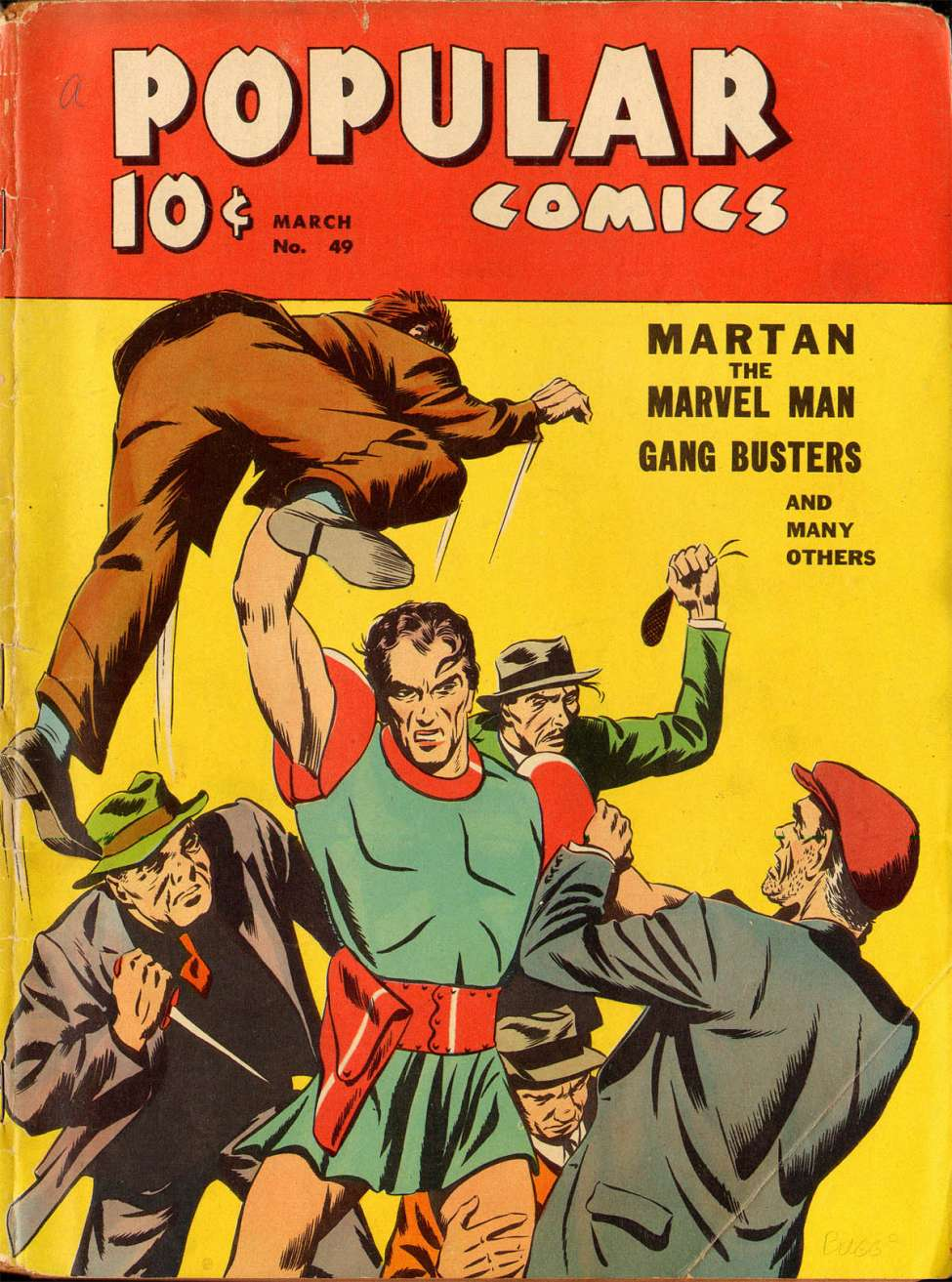 Comic Book Cover For Popular Comics #49