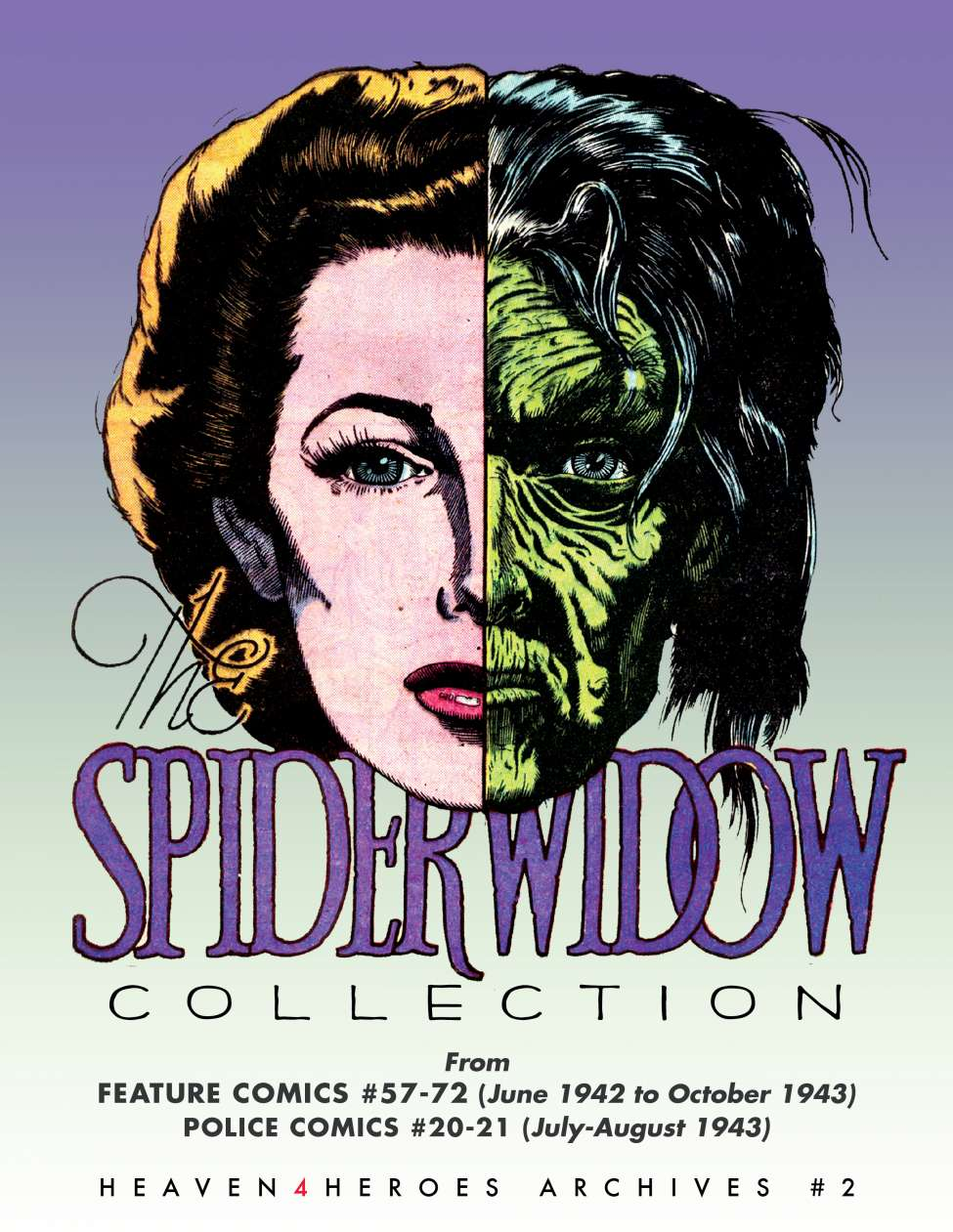 Comic Book Cover For Heaven4Heroes Archive 02 - Spider Widow (Quality)