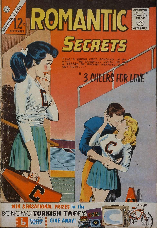 Comic Book Cover For Romantic Secrets #46